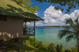 Ocean View Villa at Iririki Island Resort Vanuatu - Corporate business photography
