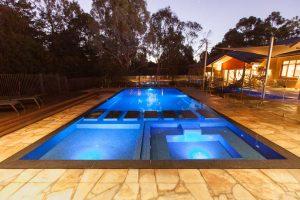 Dusk pool image